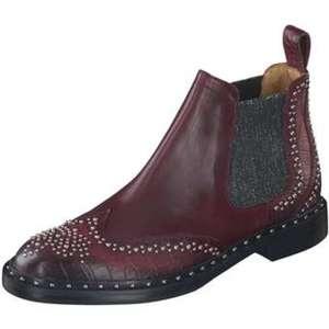 Melvin & Hamilton Chelsea Boots Damen rot