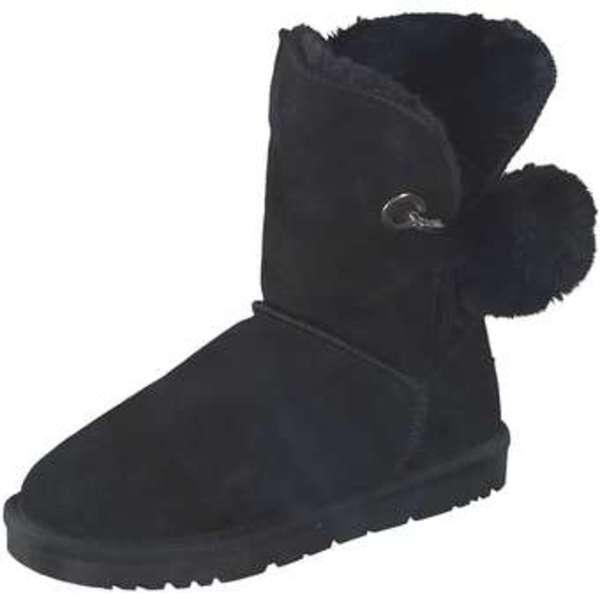 low priced 36d00 ebdeb Leone Winter Boots Damen schwarz