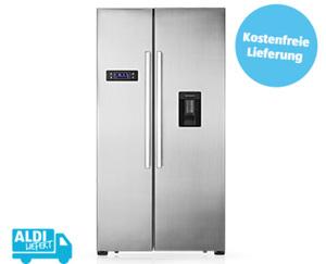 MEDION®  MD 37250 Side-by-Side Kühl- und Gefrierschrank mit Wasserspender¹