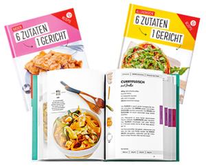 """Kochbuch-Reihe """"6 Zutaten – 1 Gericht"""""""