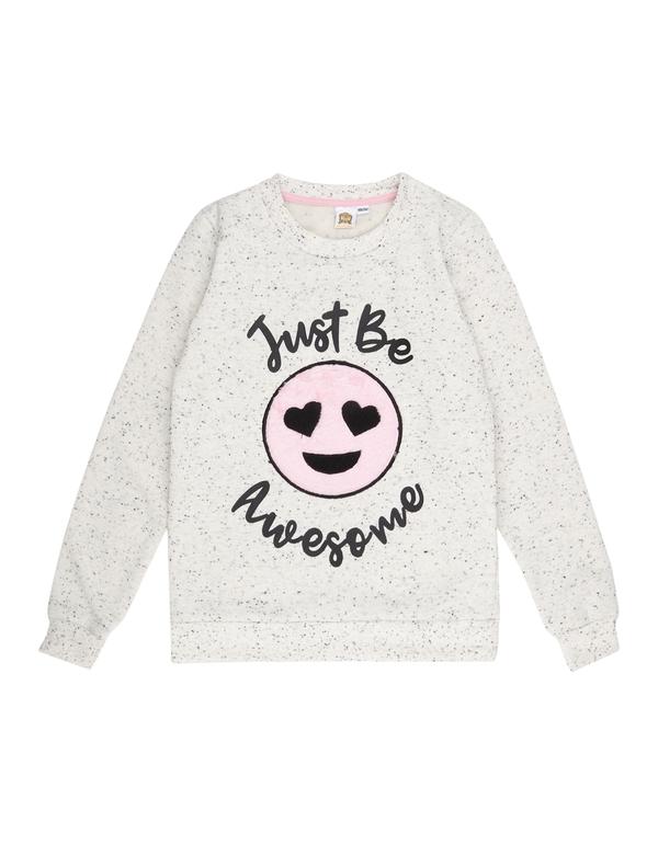 Mädchen Sweatshirt mit Phonicons-Aufnäher