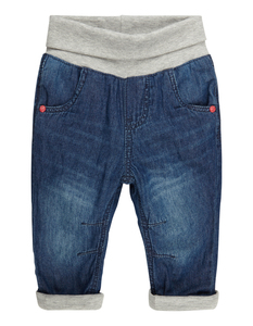 Newborn Thermo Denim Hose mit Komfortbund