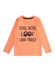 Baby Longsleeve mit Message-Print