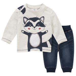 Newborn Langarmshirt und Jogpants
