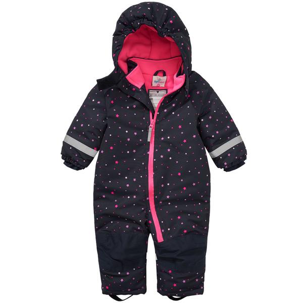 Baby Schneeoverall mit Sternen-Print