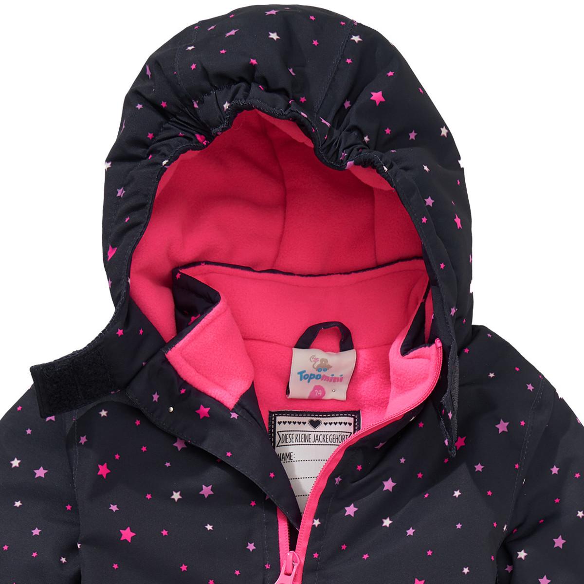 Bild 3 von Baby Schneeoverall mit Sternen-Print