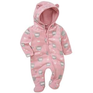 Baby Fleece-Overall mit Fuß