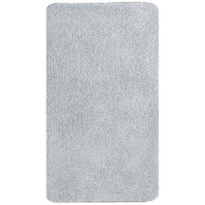 Badteppich-Serie HARMONIE Bidetvorlage 55 x 65 cm in Silber