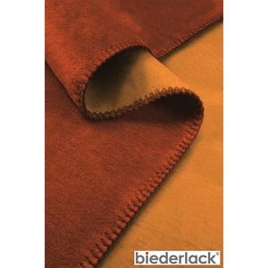 biederlack Wohndecke DOUBLEFACE 150 x 200 cm in Orange