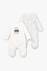 Baby Club         Baby-Pyjama - Bio-Baumwolle - 2er Pack