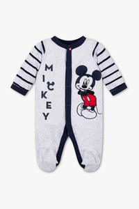 Disney Baby         Micky Maus - Baby-Schlafanzug - Bio-Baumwolle