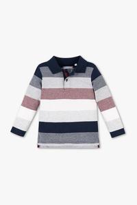 Palomino         Poloshirt - Bio-Baumwolle - gestreift