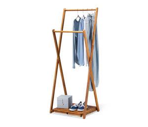 Klappbarer Massivholz-Kleiderständer