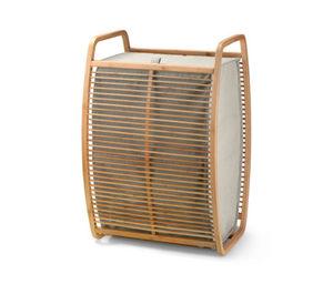 Bambus-Wäschekorb mit Deckel