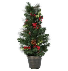 GALERIA SELECTION             Weihnachtsbaum im Blumentopf
