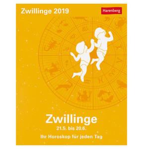 Harenberg             Zwillinge Sternzeichenkalender
