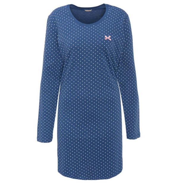 ESPRIT             Nachthemd, Punkte, Schleife