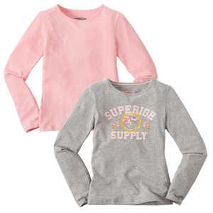 HIP & HOPPS®  Mädchen-Langarm-Shirt