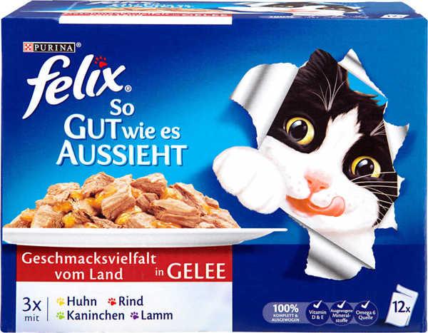 FELIX Katzennahrung von Kaufland ansehen!