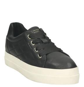 """GANT             Sneaker """"Amanda"""", Leder, Ziernähte, Plateau"""