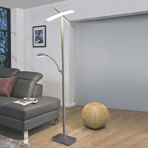 B-LEUCHTEN LED-Stehlampe   Duo