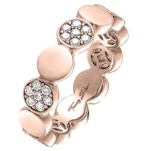 THOMAS SABO             Ring Sparkling Circles TR2048-416-14
