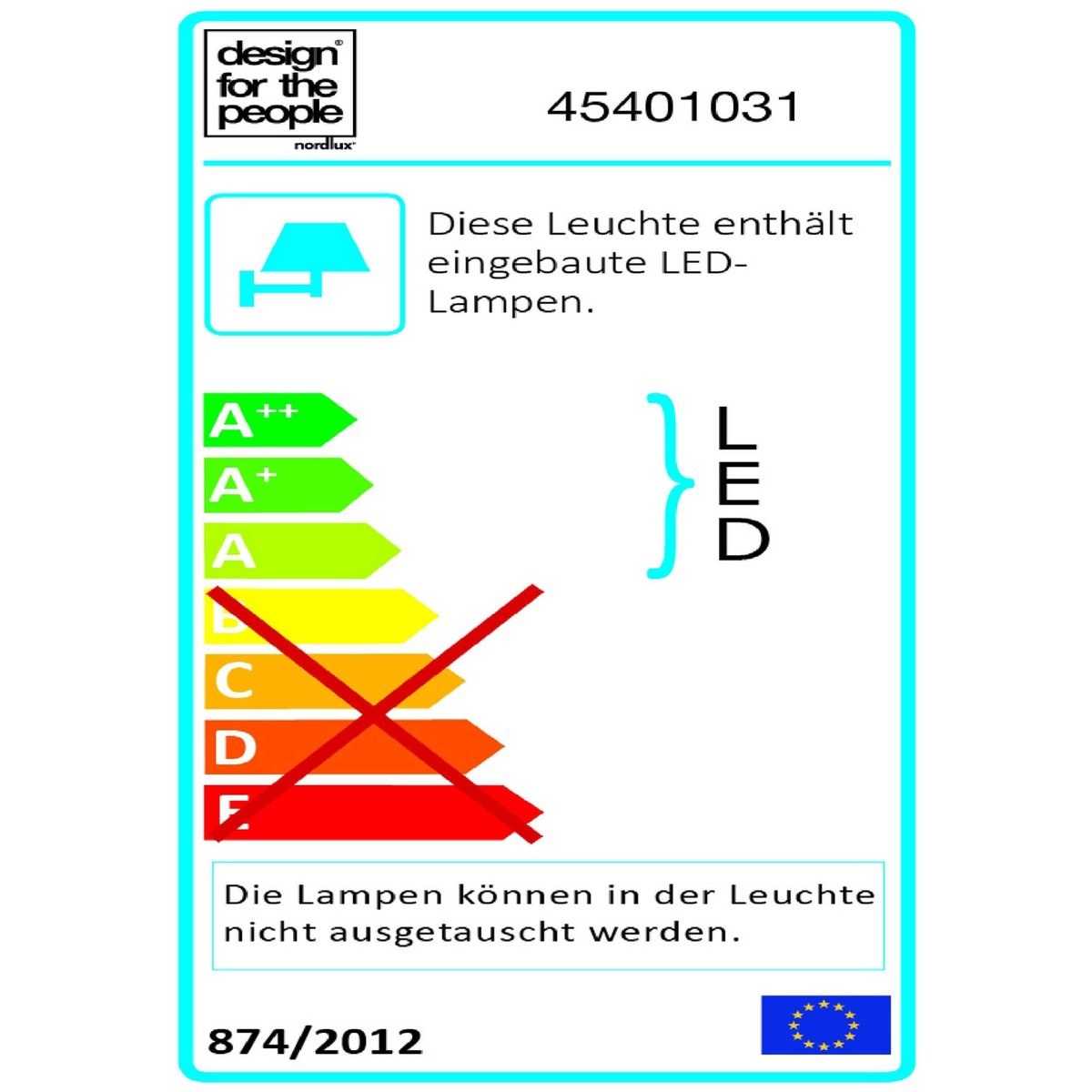 Bild 3 von Nordlux LED-Außenwandleuchte   Fold