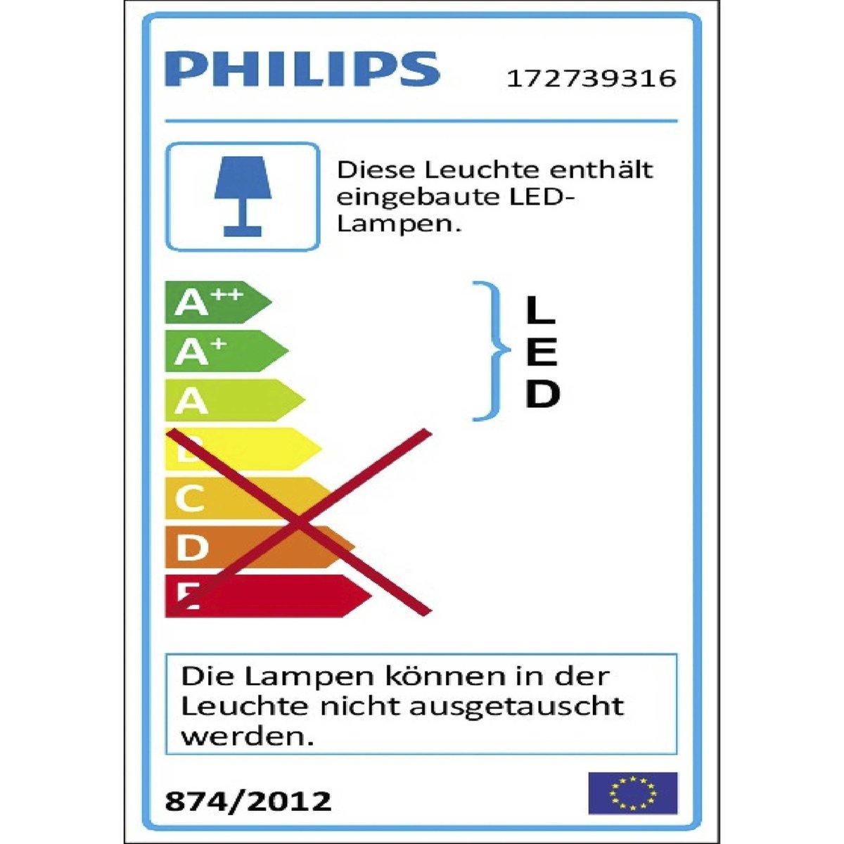 Bild 5 von Philips LED-Außenwandleuchte   Raccoon
