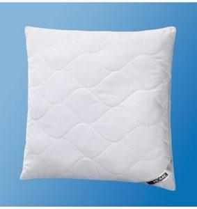 Microfaserkissen, »Climacontrol Cotton made in Africa«, my home, (1-tlg), trockenes Schlafklima
