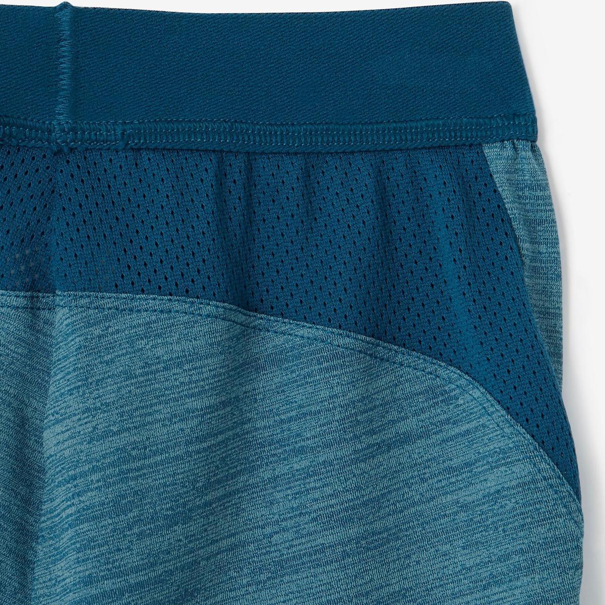 Bild 4 von Sporthose kurz S500 Babyturnen blau