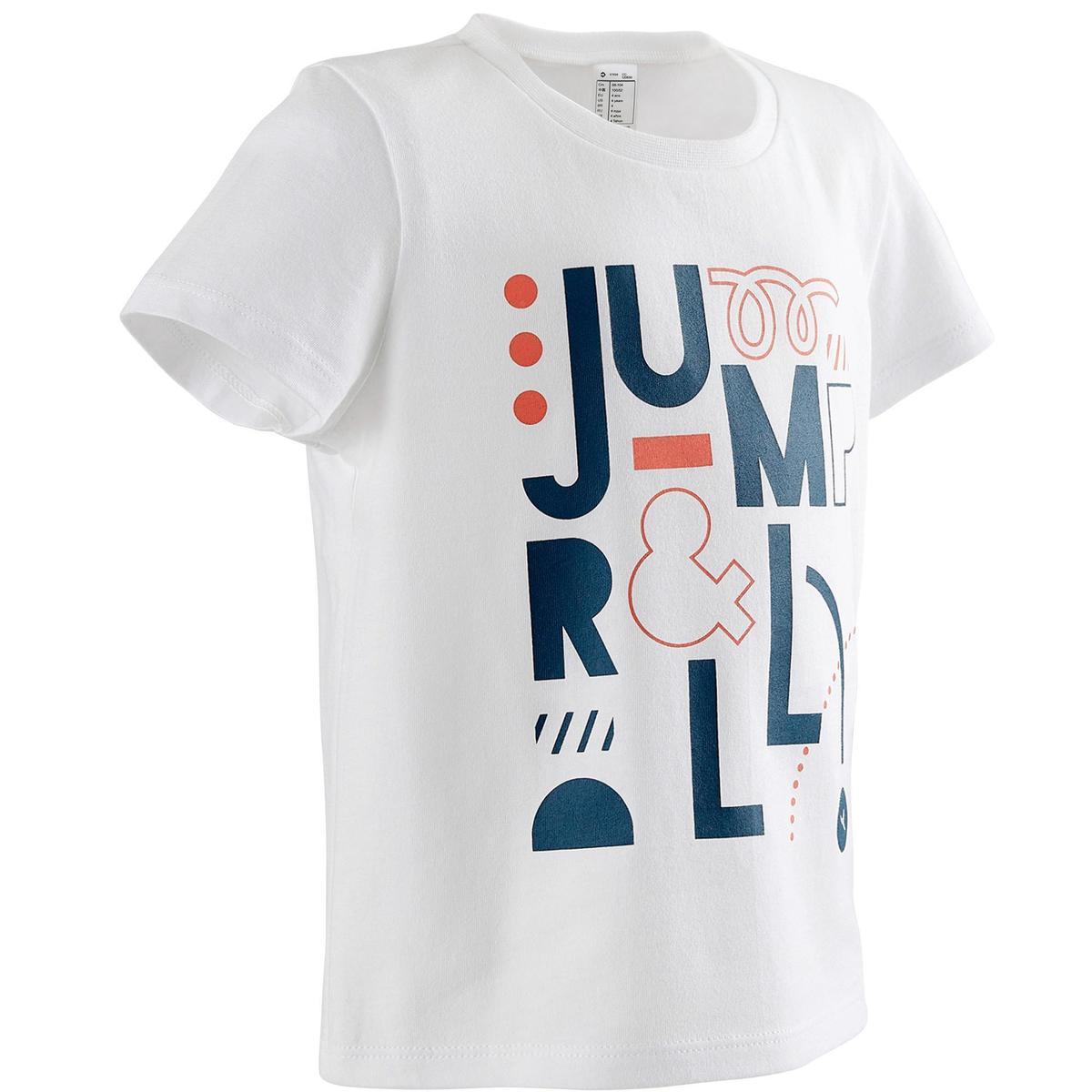 Bild 2 von T-Shirt 100 2er-Pack weiß/blau