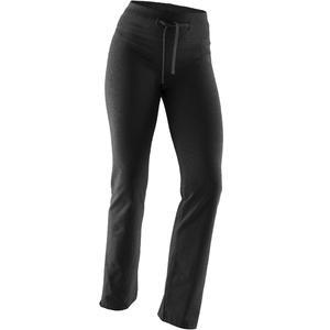 Leggings Komfort+ 500 Regular Gym & Pilates Damen schwarz