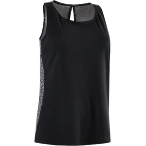 Tank-Top 520 Gym & Pilates Damen schwarz