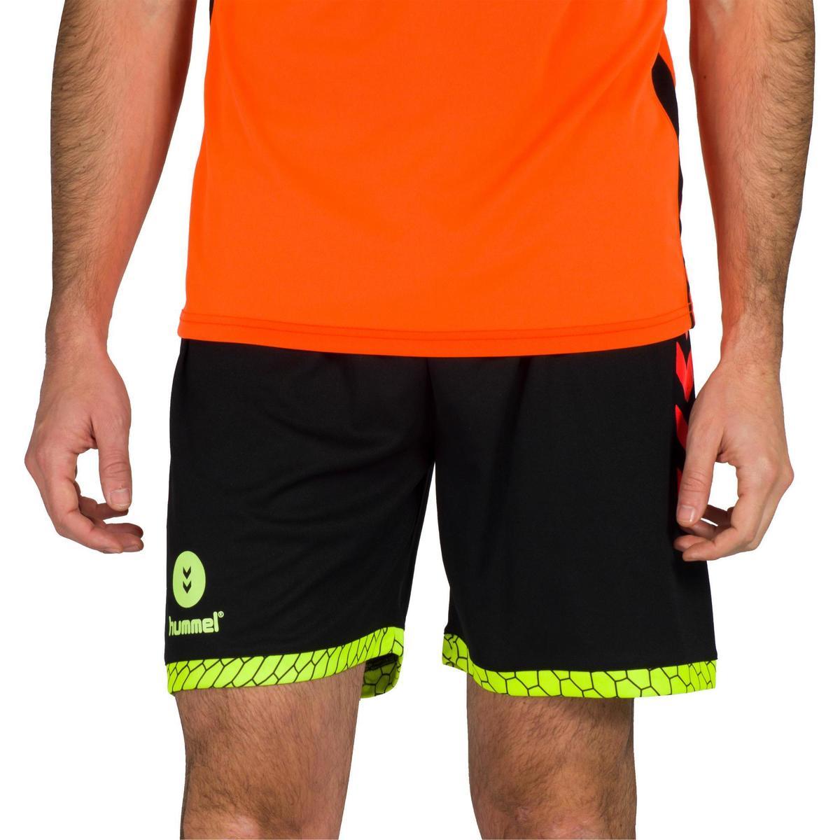 Bild 2 von Handball-Shorts Herren schwarz/orange/gelb