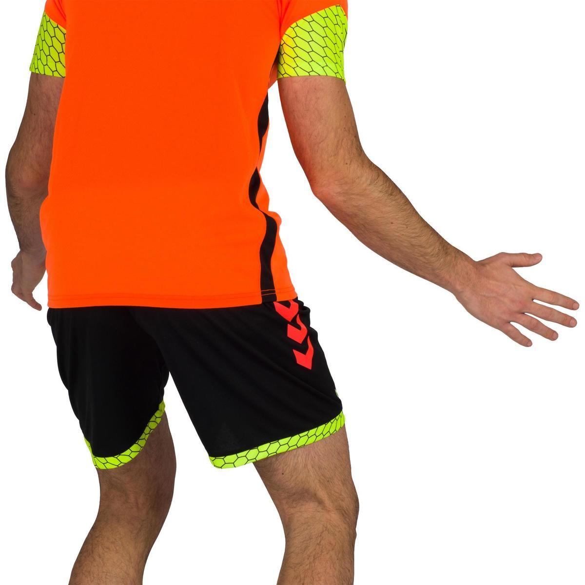 Bild 4 von Handball-Shorts Herren schwarz/orange/gelb