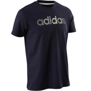 T-Shirt Decadio 500 Gym Herren blau