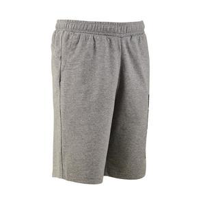 Sporthose kurz Gym Kinder grau