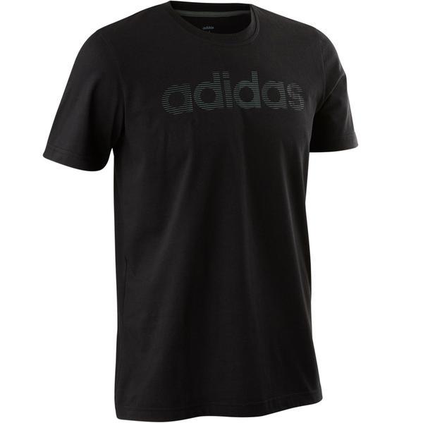3f24fa51ebf4b3 T-Shirt Decadio 500 Pilates sanfte Gymnastik Herren schwarz von ...