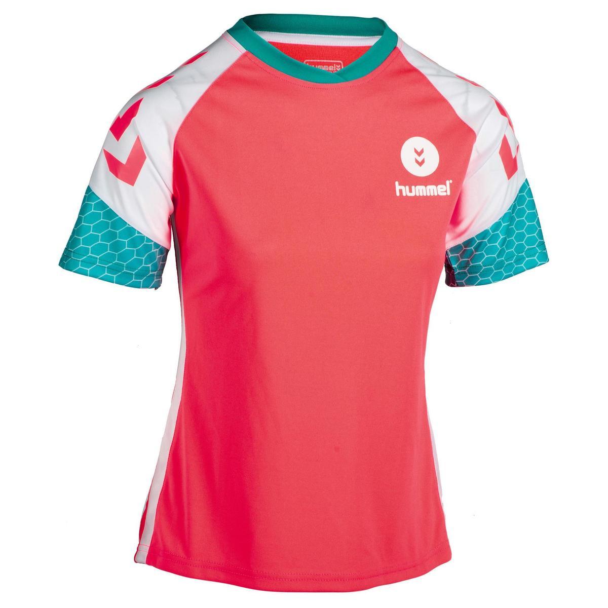 Bild 1 von Handballtrikot Damen rosa/weiß/blau/türkis