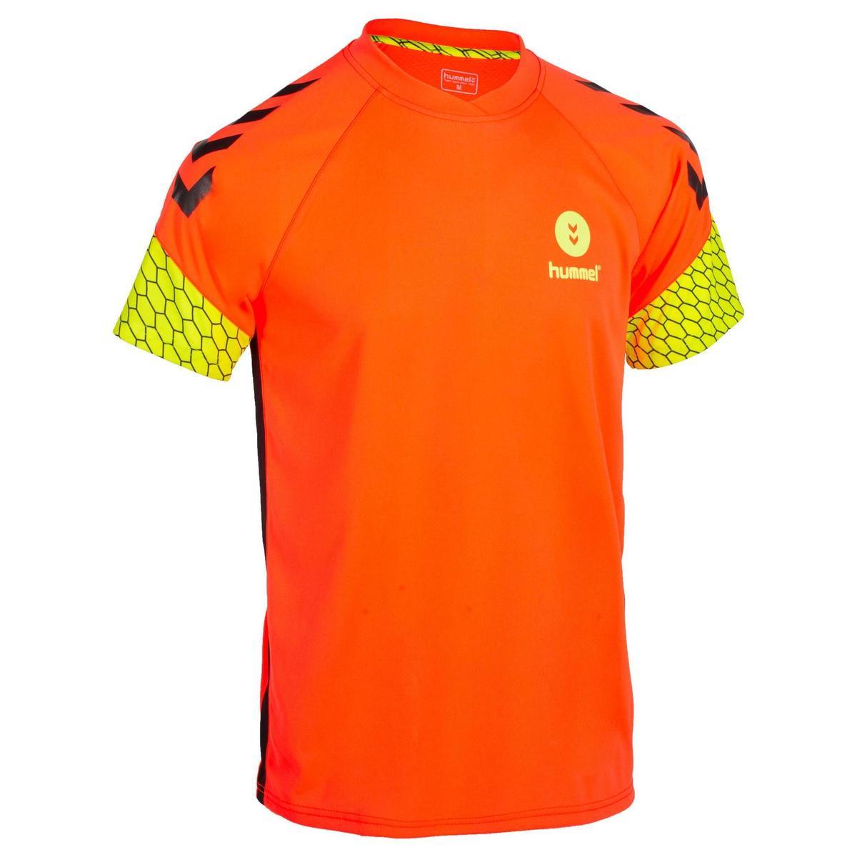 Bild 1 von Handballtrikot Herren orange/gelb