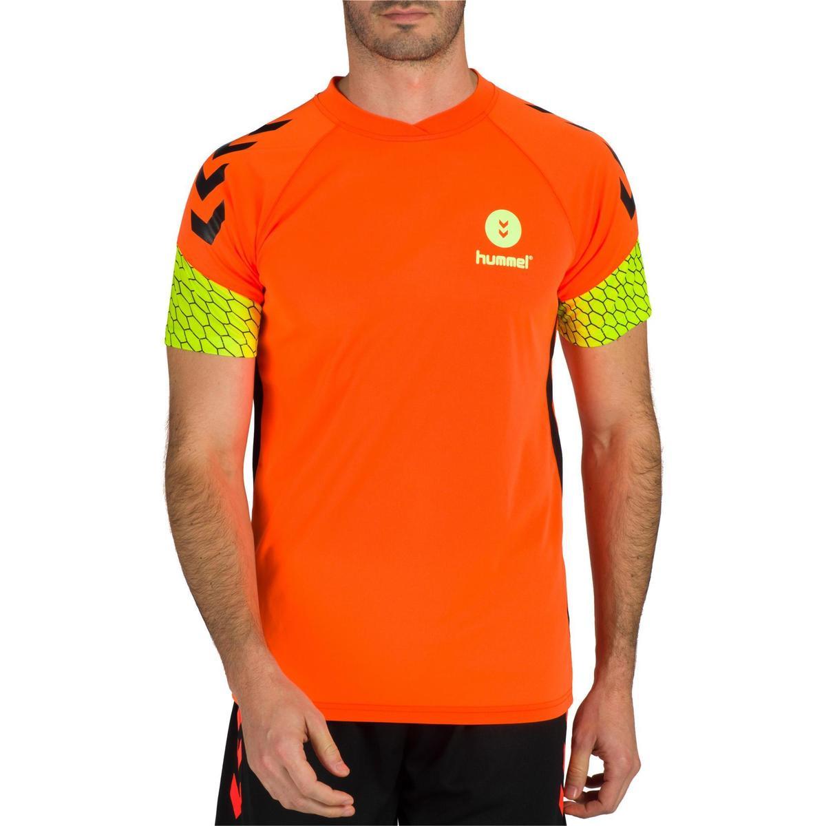 Bild 2 von Handballtrikot Herren orange/gelb