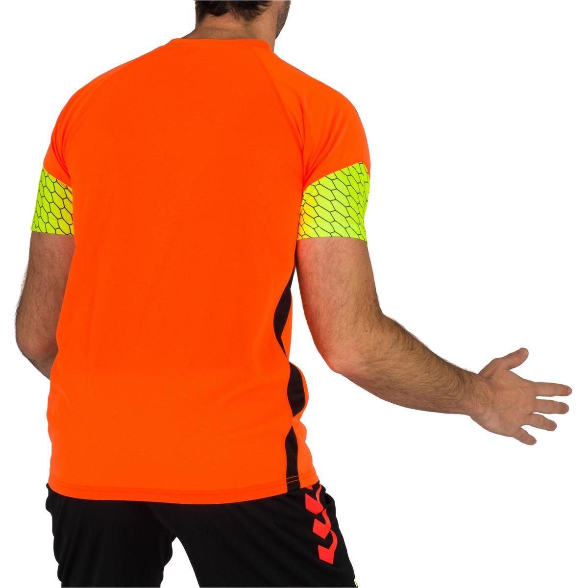 Bild 4 von Handballtrikot Herren orange/gelb