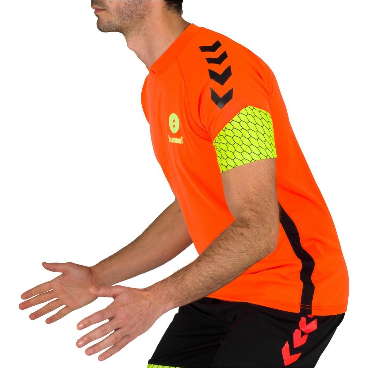Bild 5 von Handballtrikot Herren orange/gelb