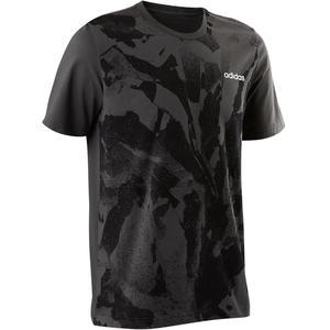 T-Shirt Gym 500 Herren grau
