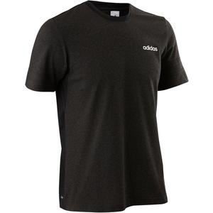 T-Shirt Douario 500 Gym Herren schwarz