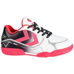 Handballschuhe Aerotech Kinder grau/rosa/weiß