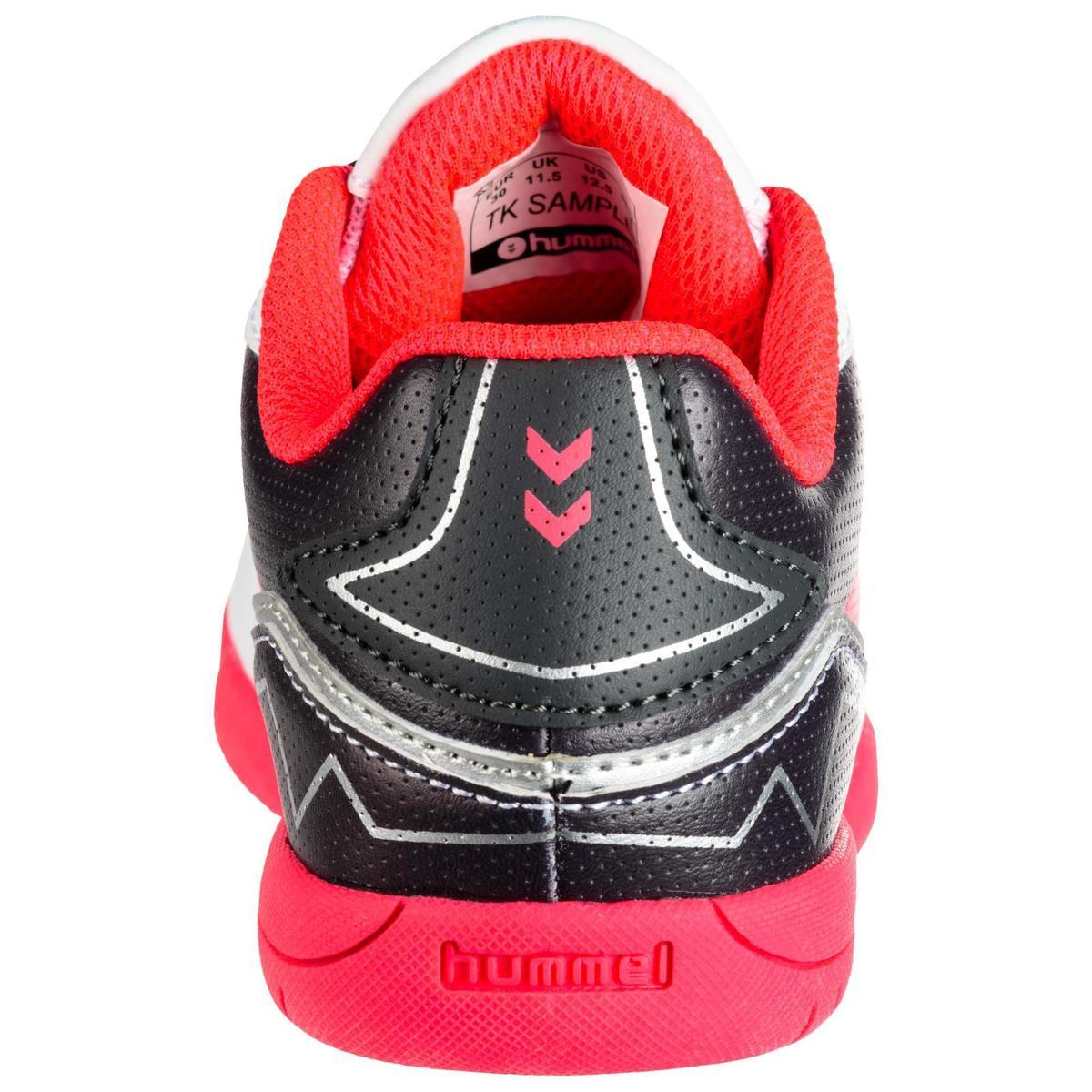 Bild 3 von Handballschuhe Aerotech Kinder grau/rosa/weiß