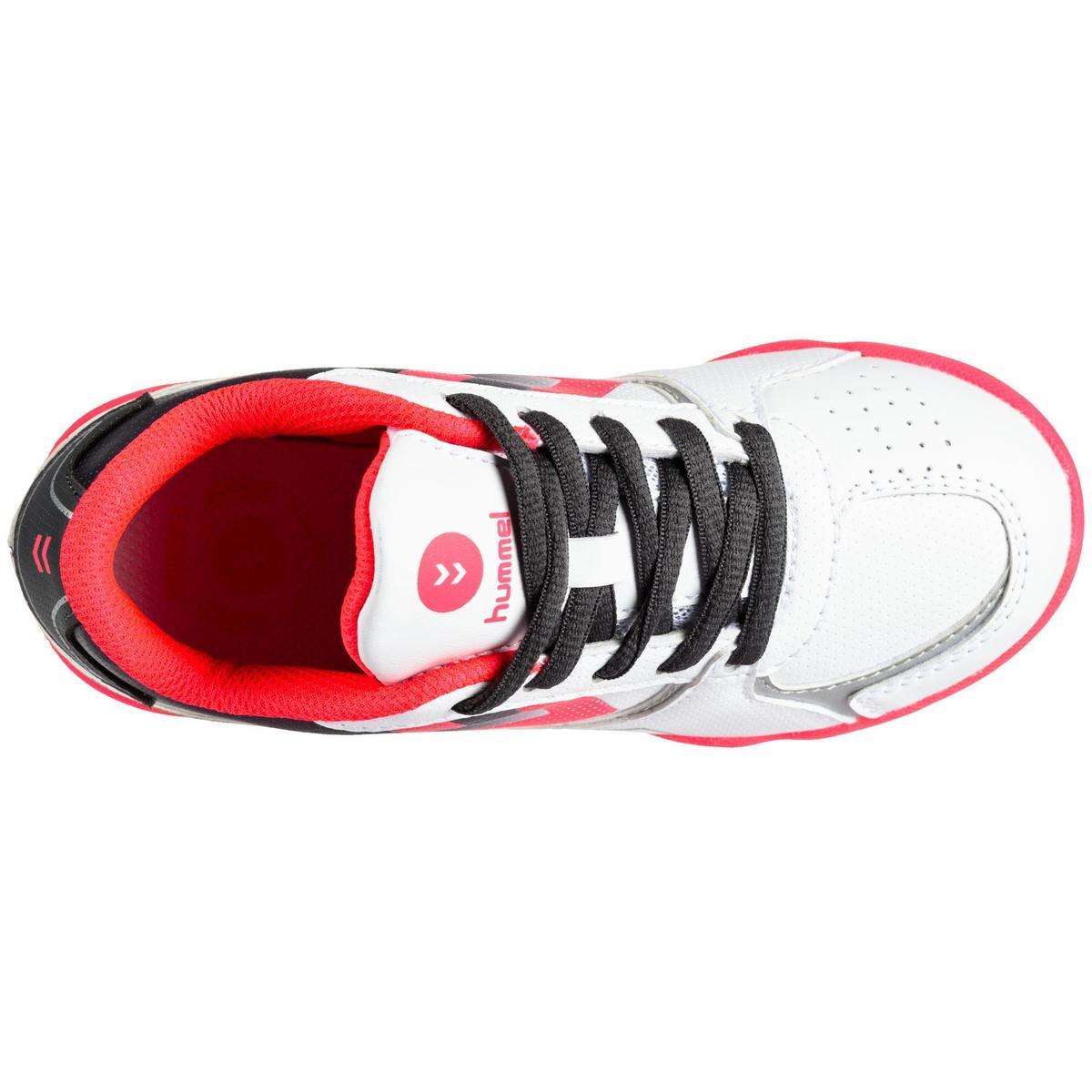 Bild 5 von Handballschuhe Aerotech Kinder grau/rosa/weiß