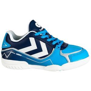 Handballschuhe Aerotech Kinder blau/weiß