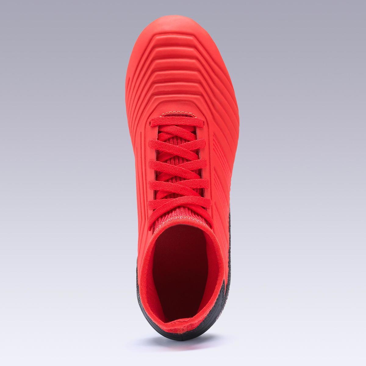 Bild 4 von Fußballschuhe Nocken Predator 18.3 HG Erwachsene rot
